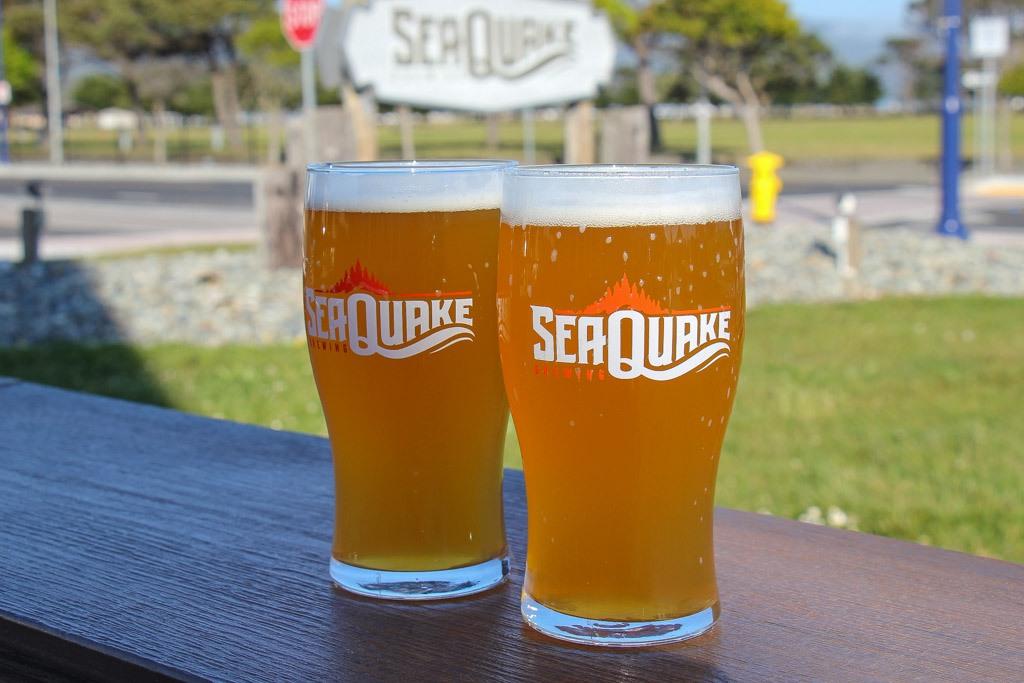 Craft Beer at Sea Quake Brewing, Crescent City, California