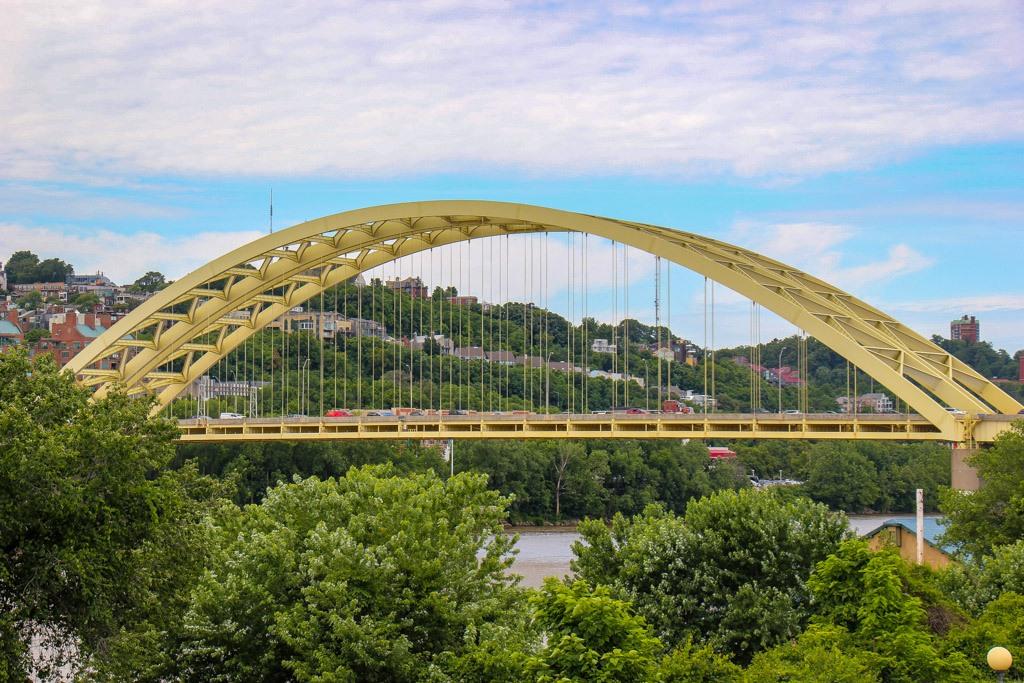 View of the Daniel Carter Beard Bridge, Newport Kentucky
