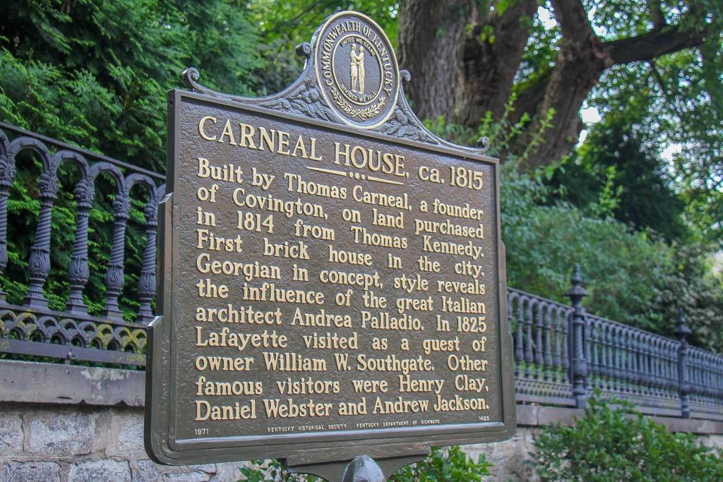 Historic Markers, Covington Kentucky