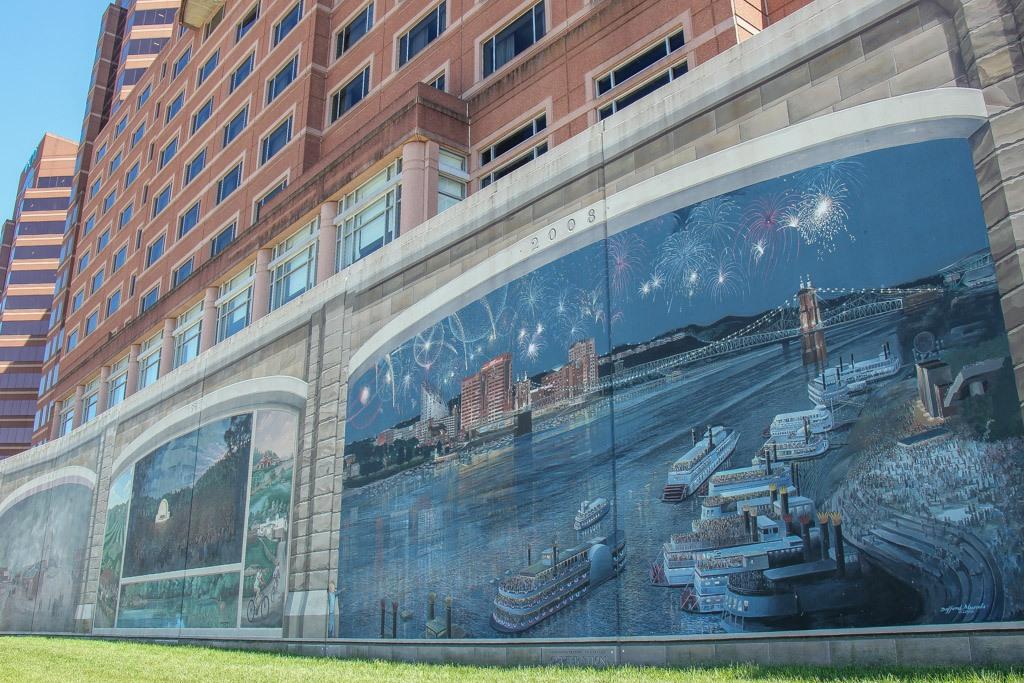 View the Roebling Murals, Covington Kentucky