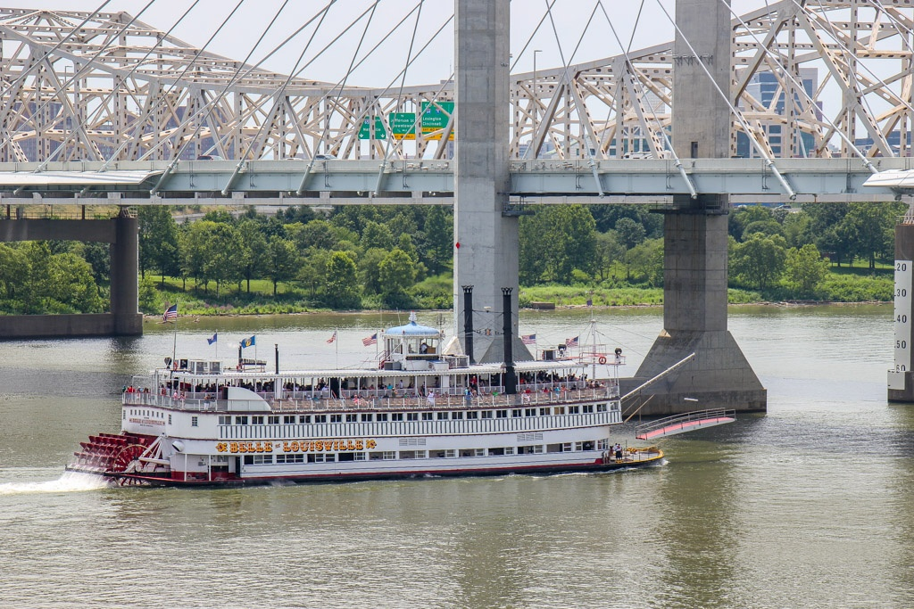 Take a cruise on the Belle of Louisville, Louisville, KY
