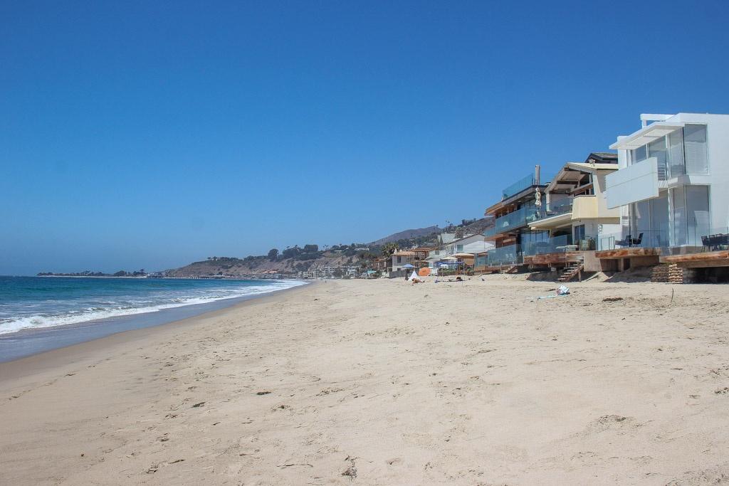 Take a walk along Carbon Beach, Malibu, California