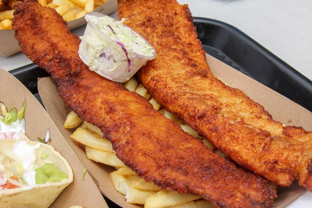 Best Fish & Chips, Neptunes Net, Malibu, California