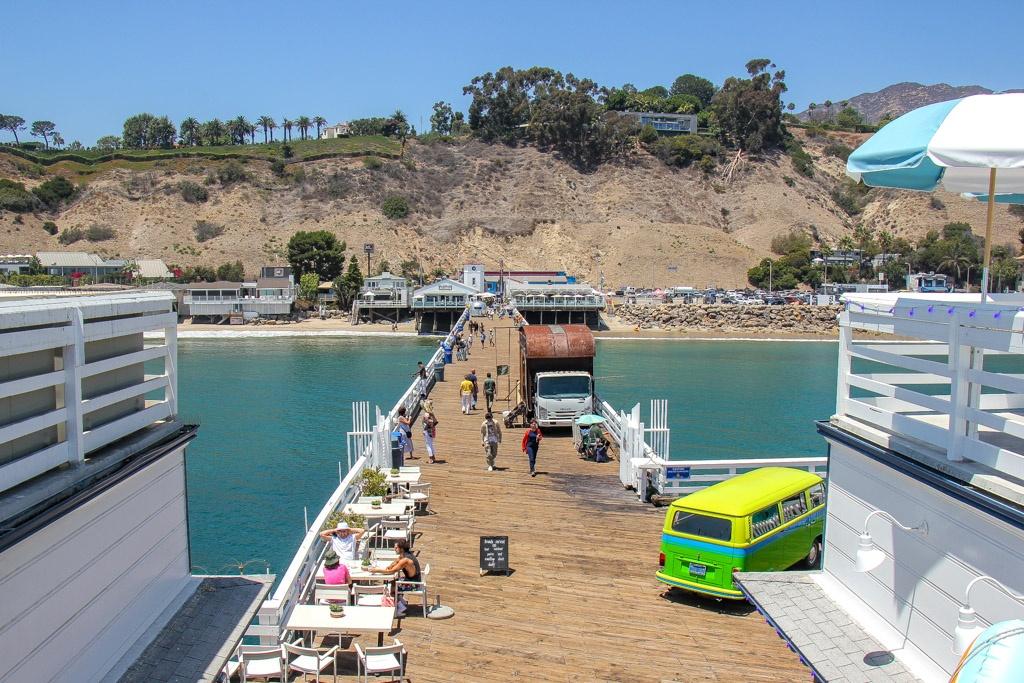 Walk The Malibu Pier, California