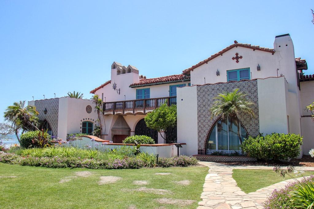 See the Outside View of Adamson House, Malibu, California