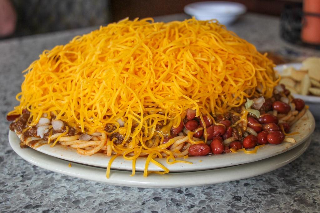 Must Eat at Skyline Chili, Cincinnati, Ohio