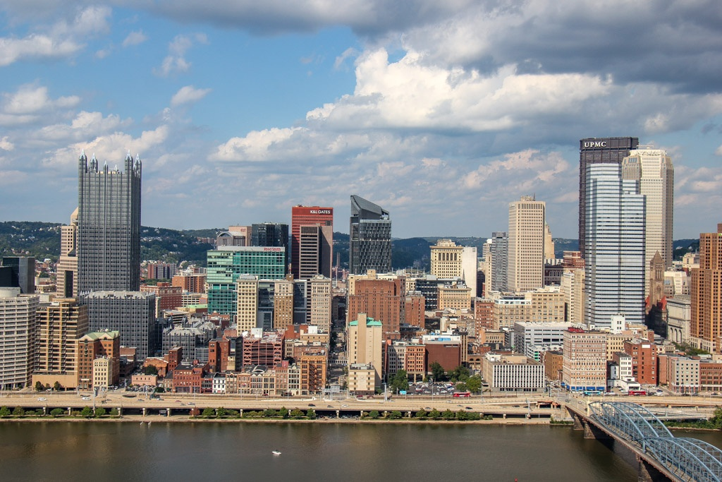 Sights of Downtown, Pittsburgh, PA