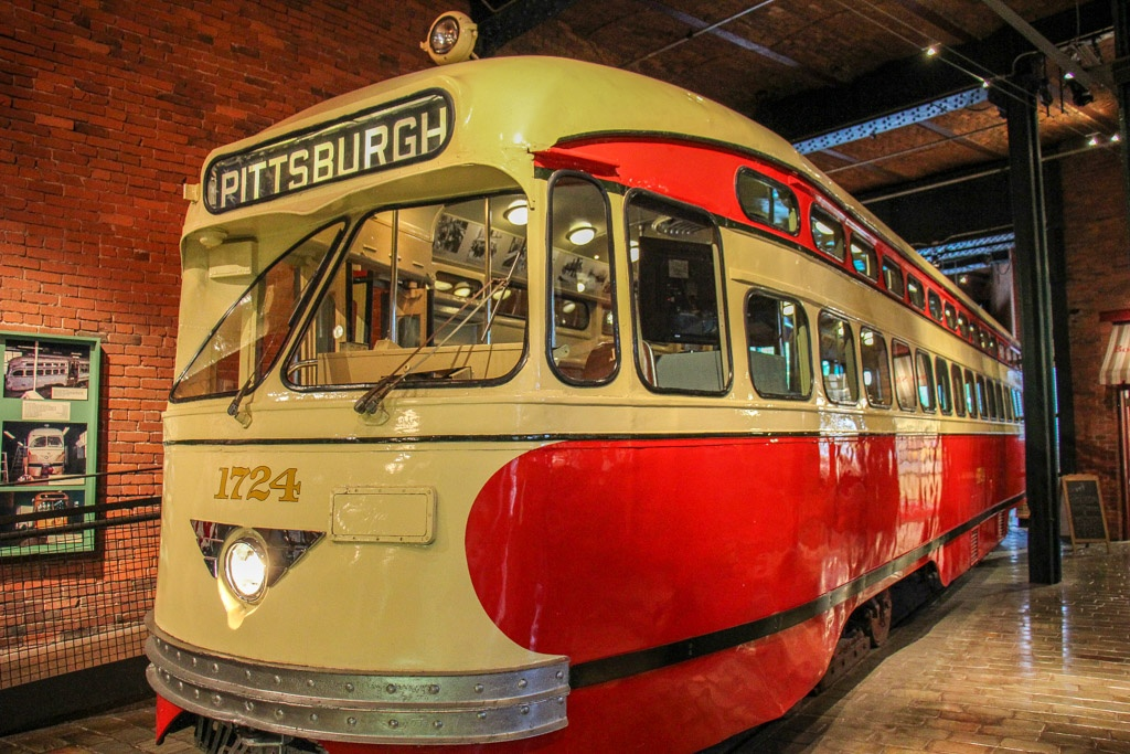 Streetcar in the Heinz Museum, Pittsburgh, PA