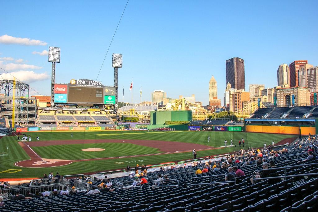 Pirates baseball at PNC Park, Pittsburgh, PA