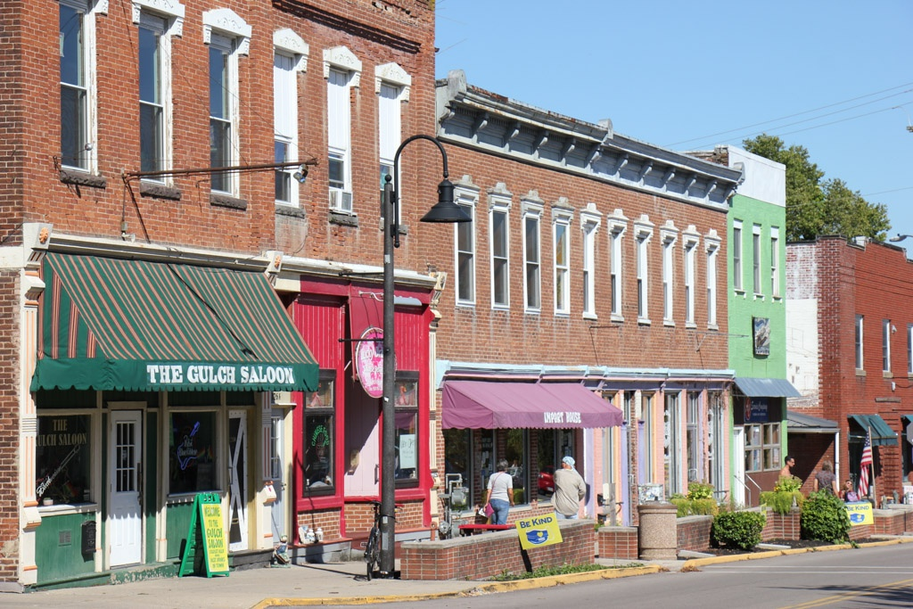 Take a Stroll in Downtown Yellow Springs, Ohio