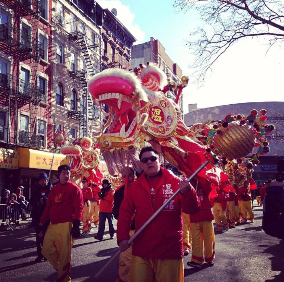 NYC: Chinese New Year Parade