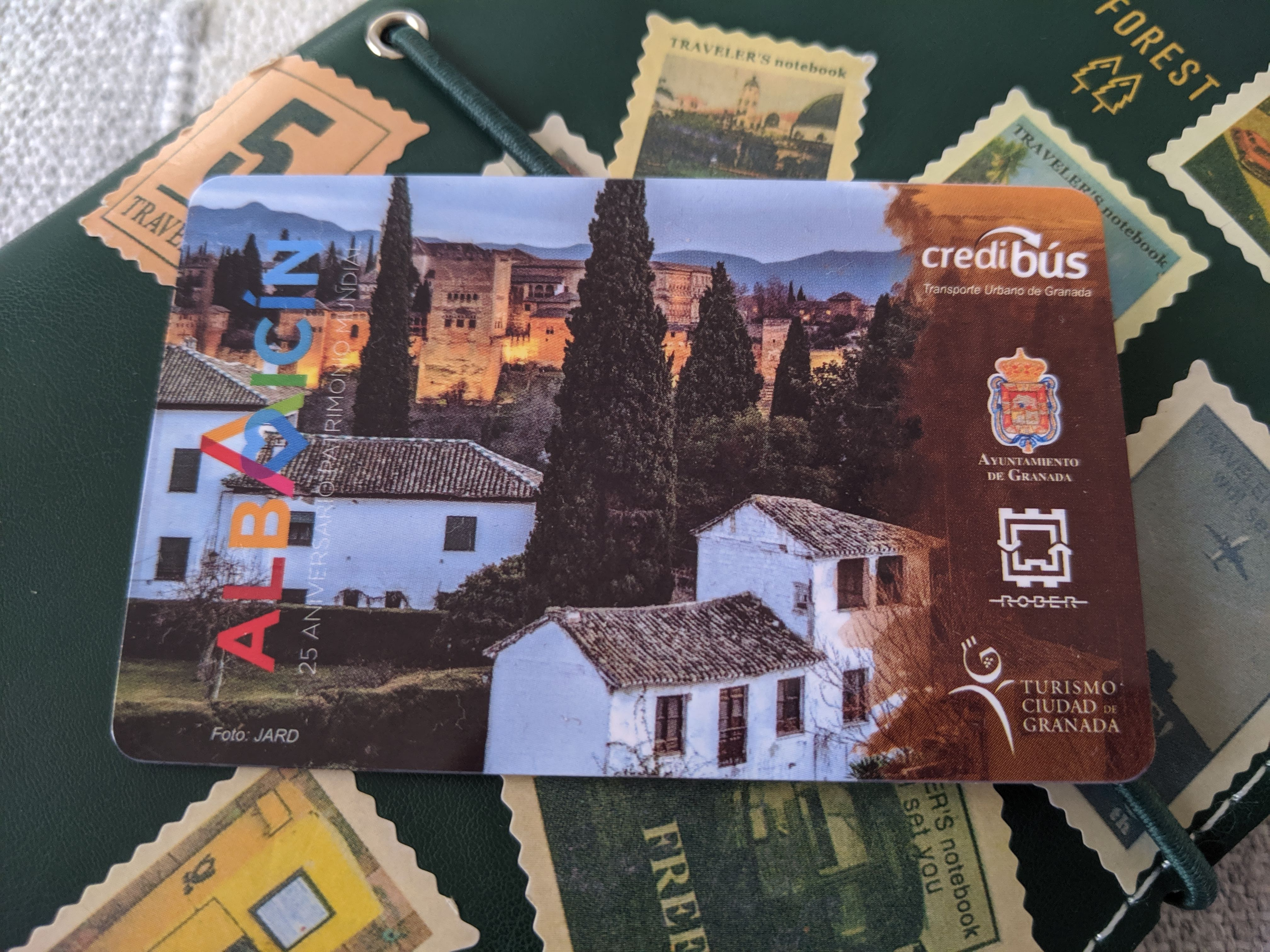 The bus pass you get included in granada card