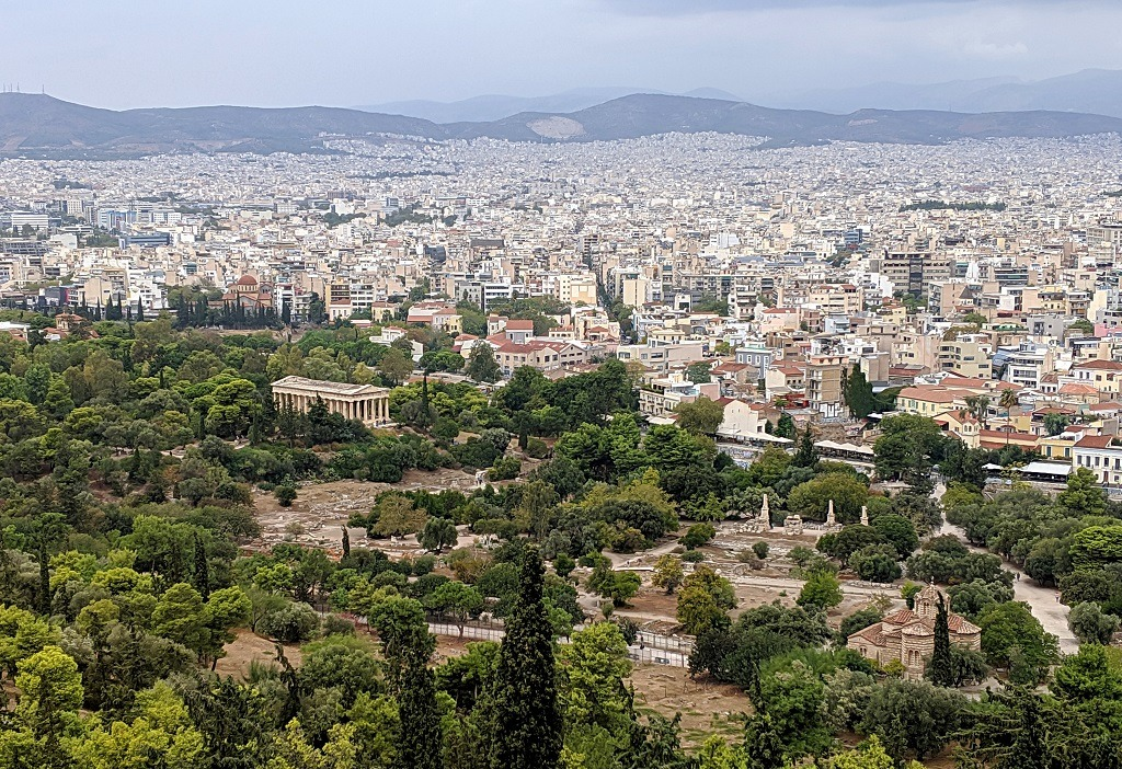 Layover in Athens: Temple of Hephaestus