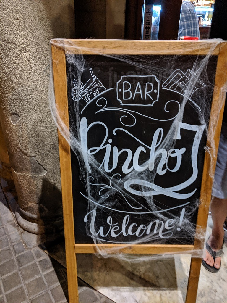 Pincho J barcelona