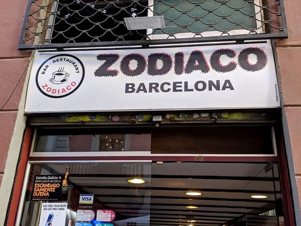 Zodiaco pinchos bar