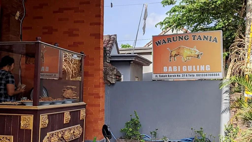 Where to eat in Canggu: Babi Guling