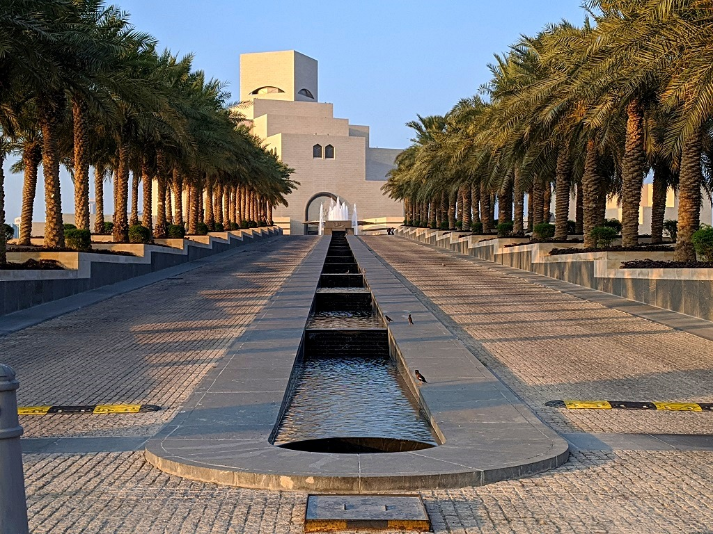 Layover in Doha: Museum of Islamic art
