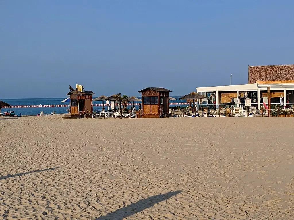 Public beach Doha