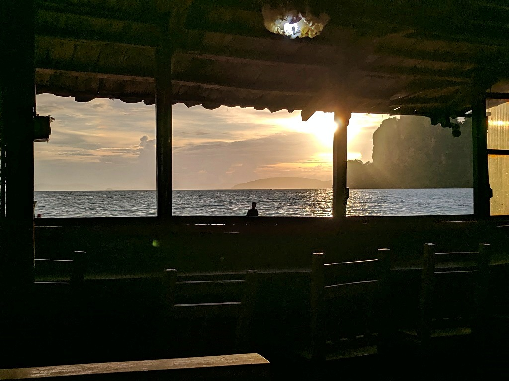 Sunset, Railay beach