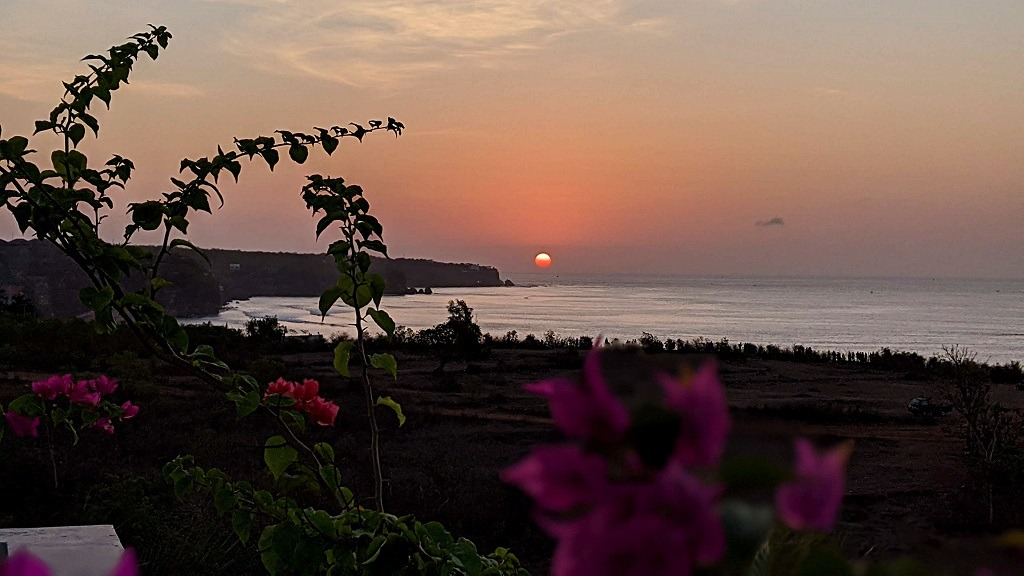 Klapa resort Uluwatu sunset