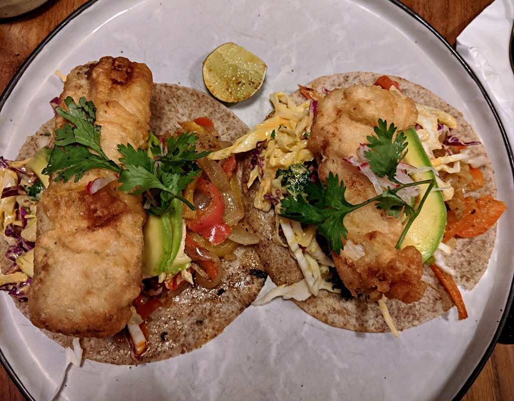 Where to eat in Canggu: fish tacos