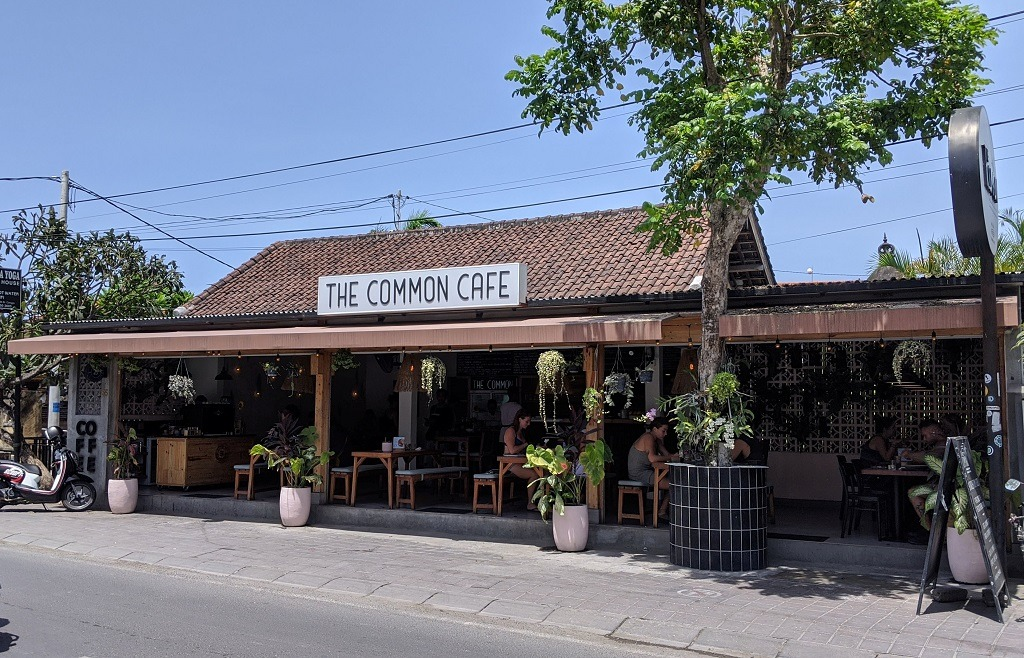 Where to eat in Canggu: The Common cafe