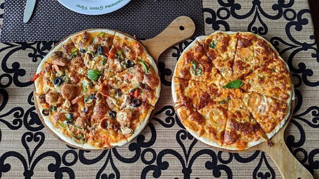 The Trevene Hotel: pizza