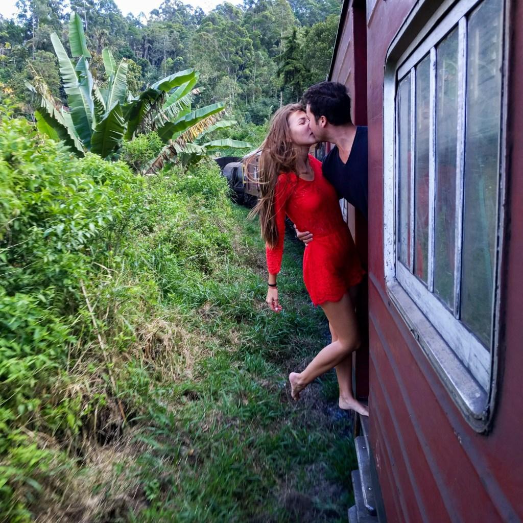 Train ride Kandy - Ella