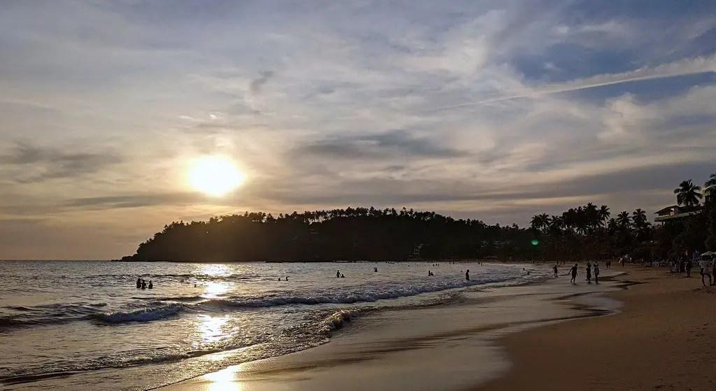 Sunset in Mirissa