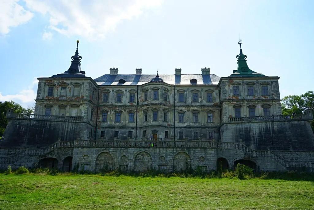 Castle in Pidhirtsi,