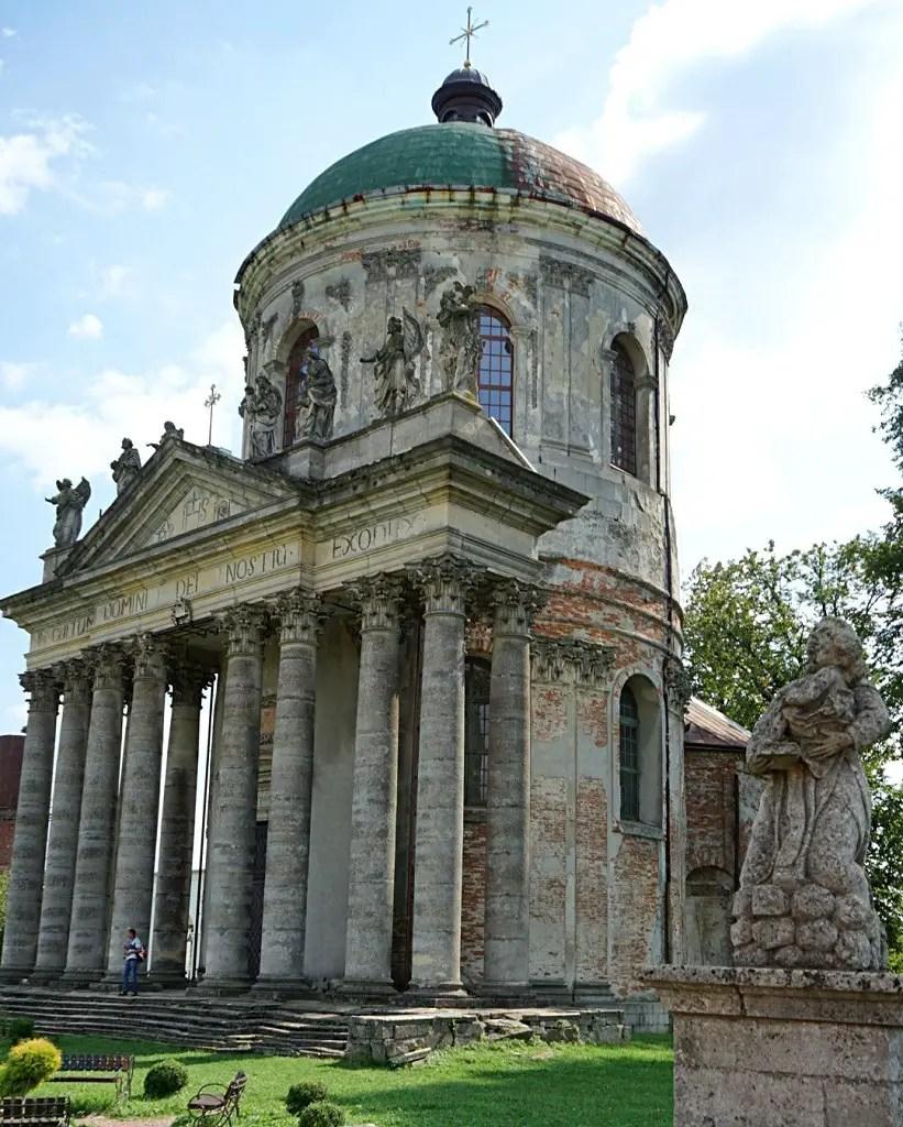 The tomb of the Zhevsky family