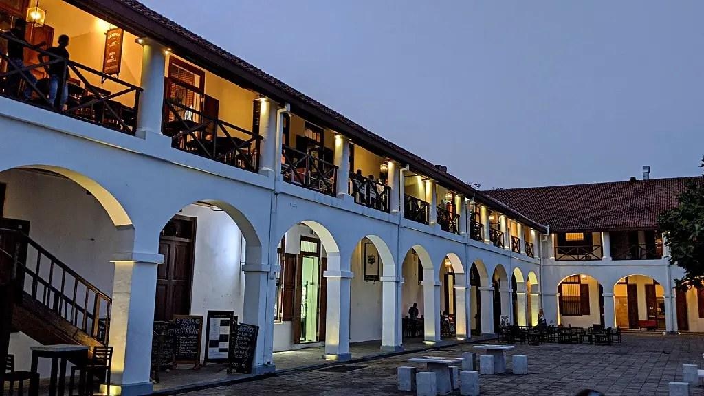 Galle Fort Old Dutch Hospital