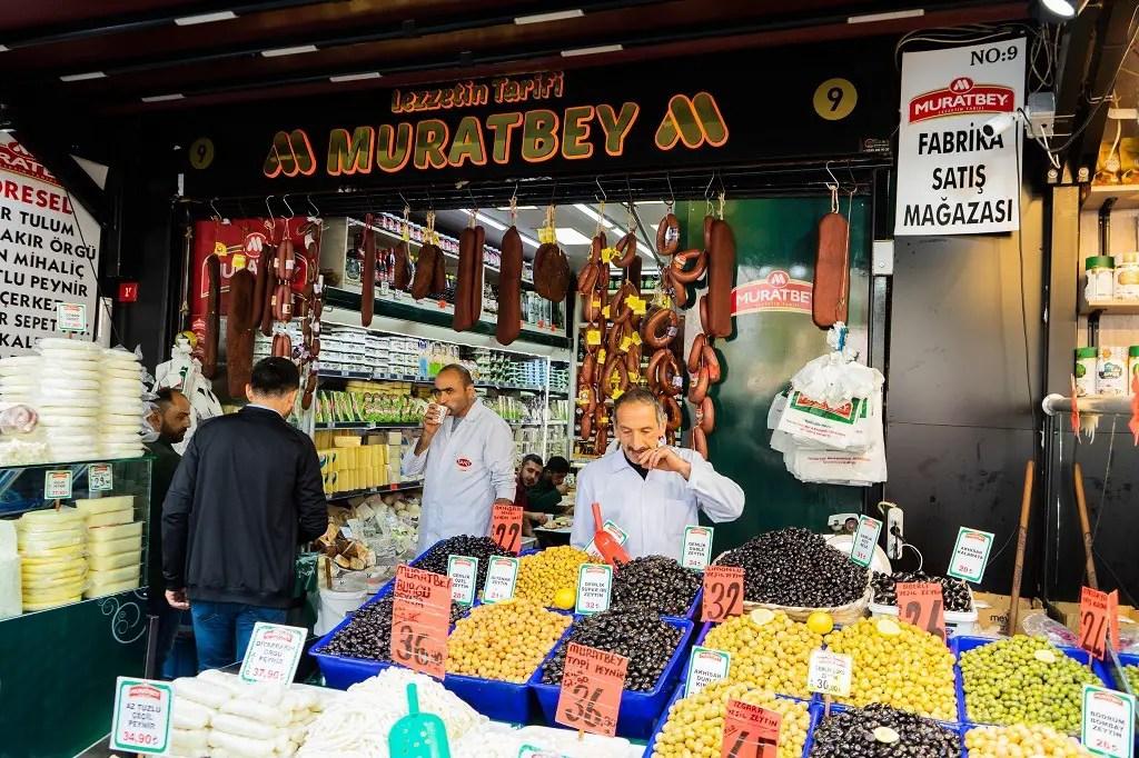 Istanbul food tour: Turkish breakfast