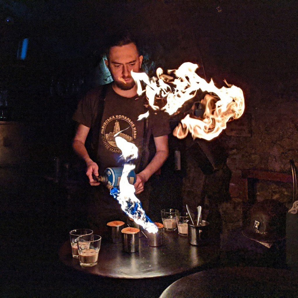 Romantic Spots In Lviv: Coffee Mine Museum