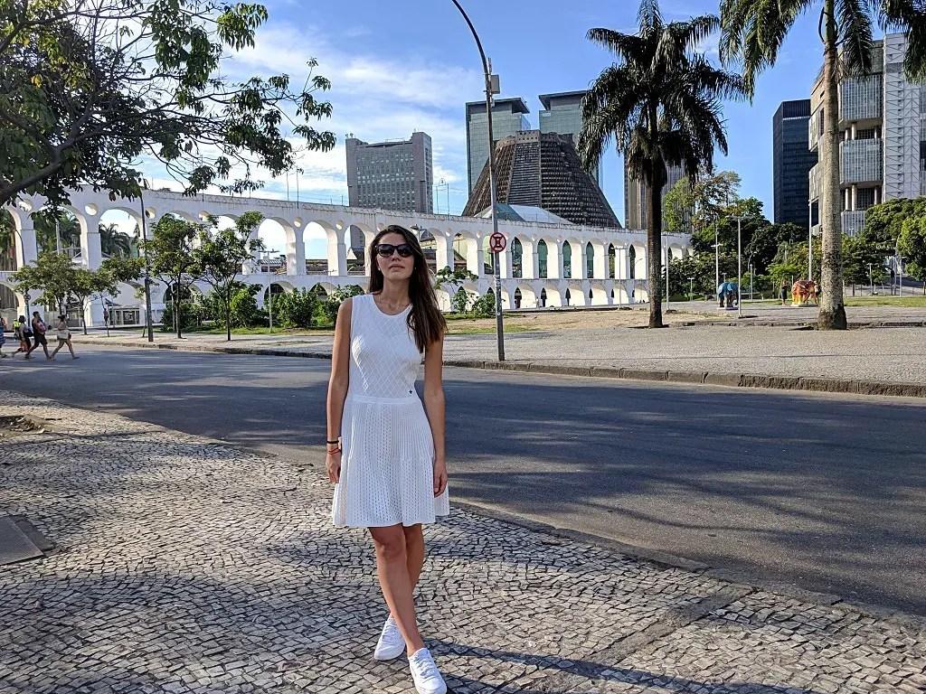 Carioca Aqueduct: Alona Tiunina