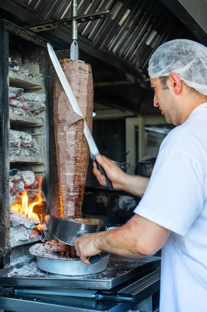 Original Iskender kebab shop