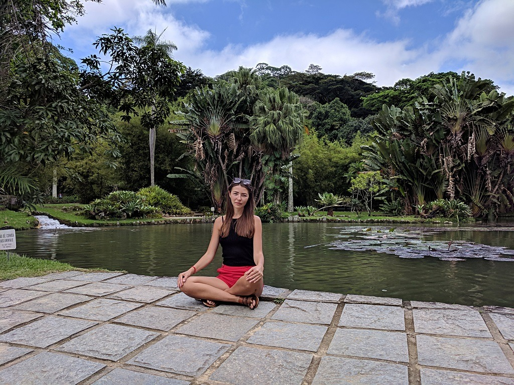 The artificial lake Frei Leandro