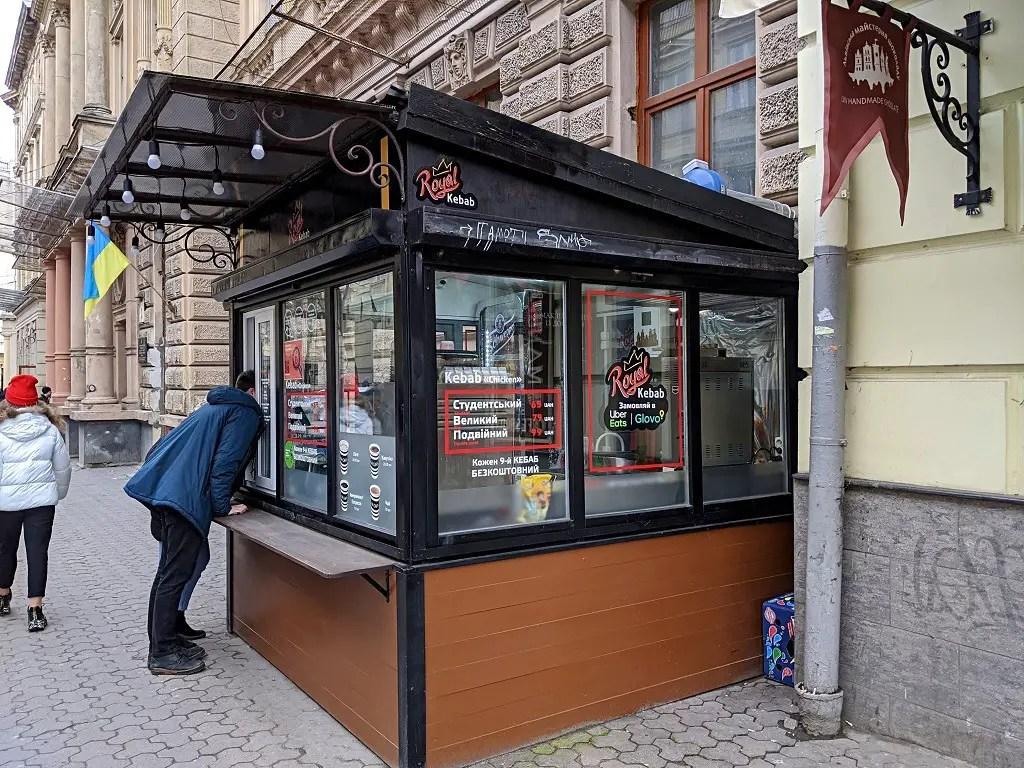 Where To Find The Best Kebab In Lviv: Royal Kebab