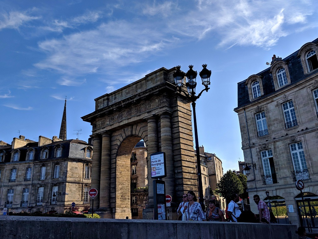 Gate of Burgundy and Pont de Pierre