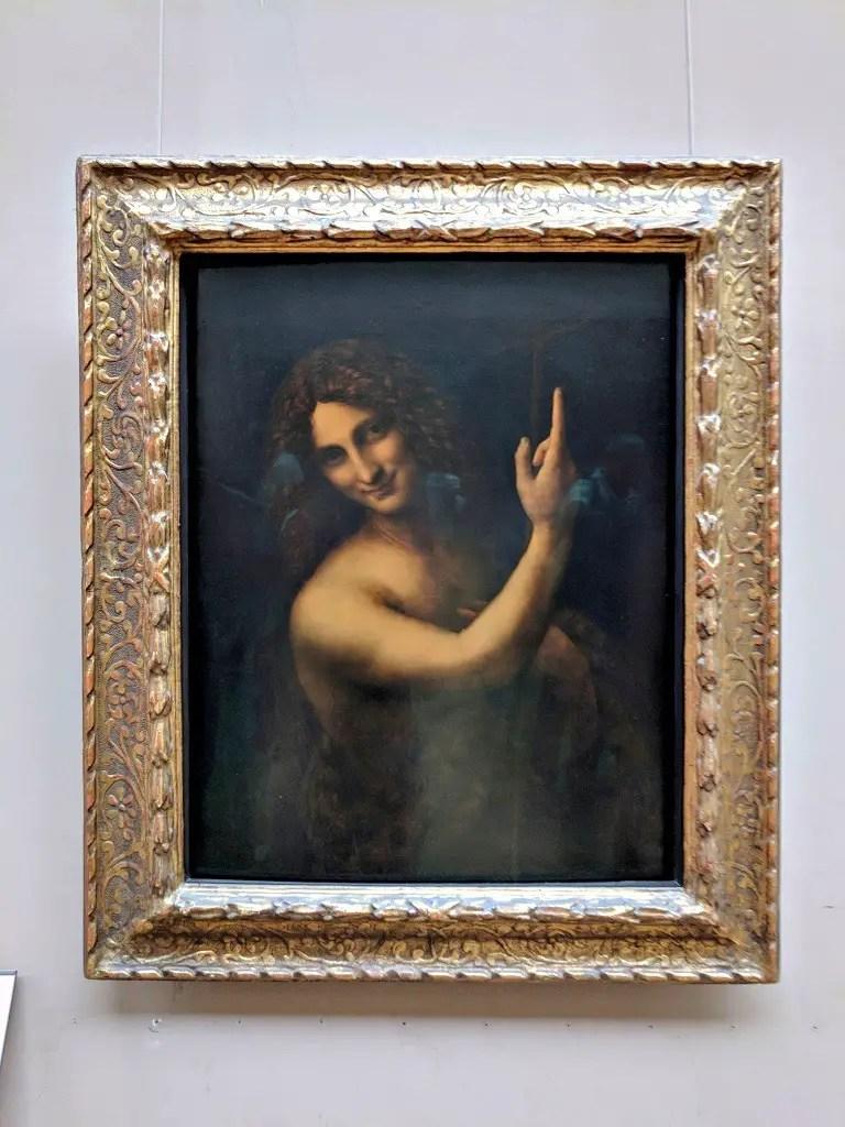 Saint Jean Baptiste by Leonardo da Vinci