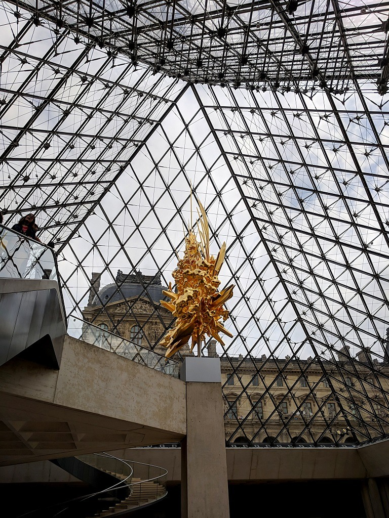 How To Visit The Louvre Museum: Inside the Glass Pyramid