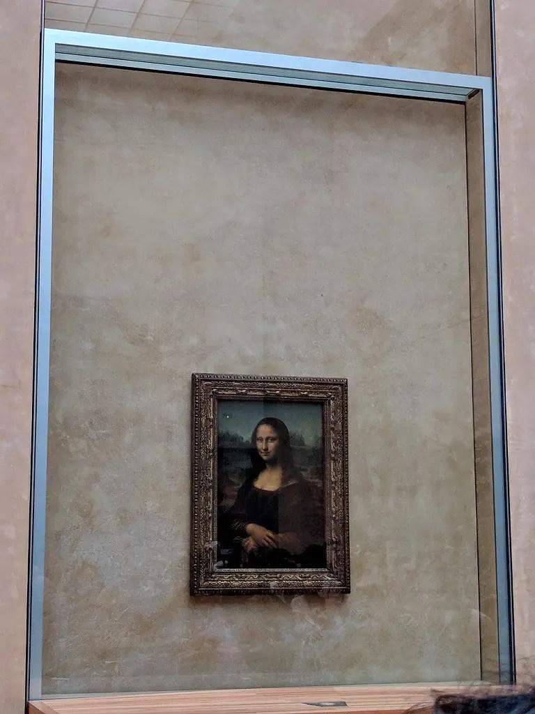 Mona Lisa by Leonardo da Vinci (The biggest treasure of the museum).