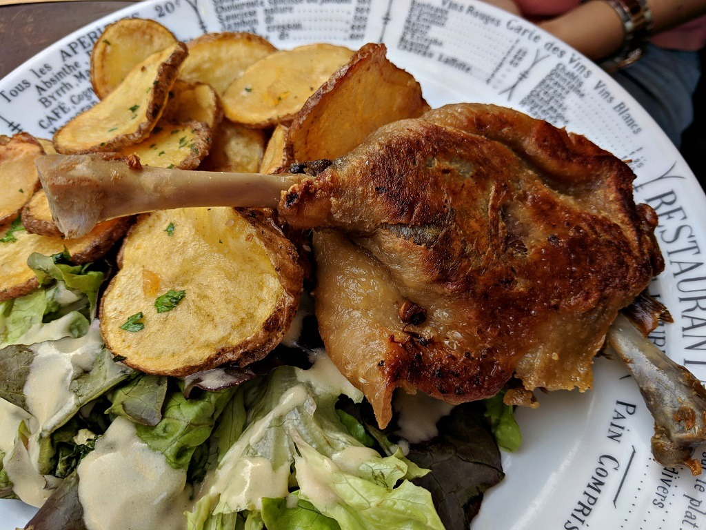 12 Dishes That Made Me Fall In Love With French Cuisine: Duck Confit (Confit du Canard)