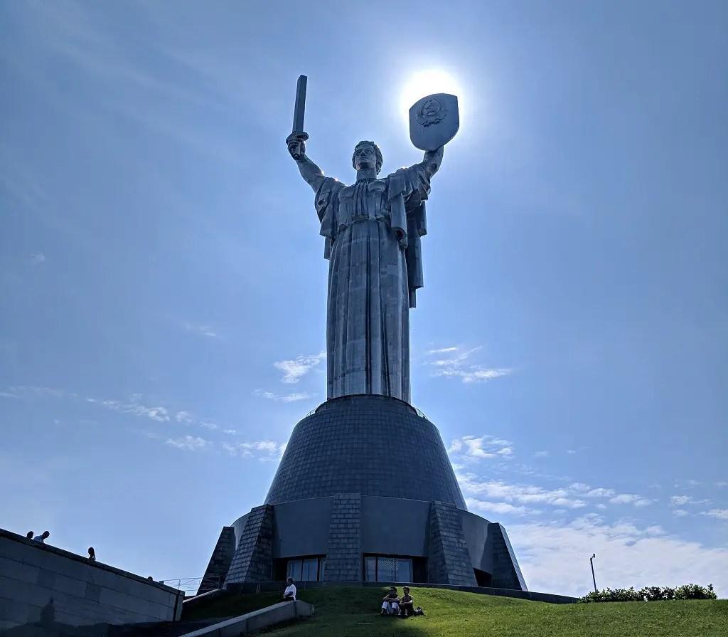 The Best Walking Route To Explore Kyiv: Motherland Kyiv Ukraine