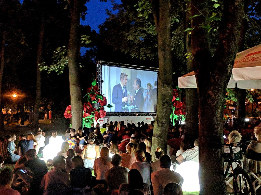 movie night in the park in  kyiv