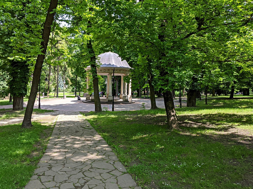 Romantic Spots In Lviv: Ivana Franka Park