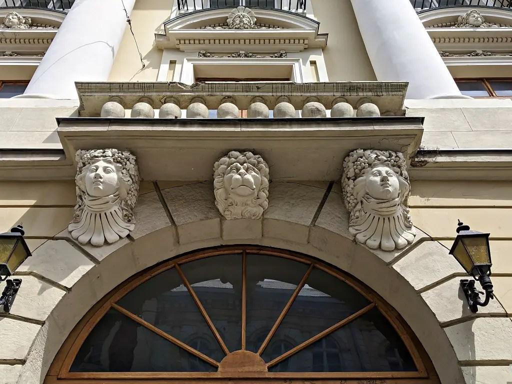 Romantic Spots In Lviv: Lviv buildings