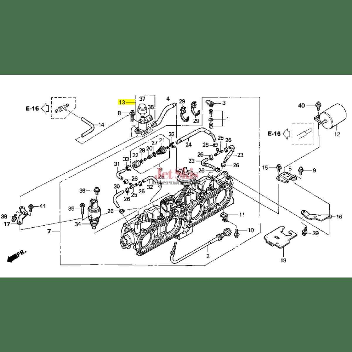 Honda Aquatrax Valve Assy Ots Solenoid