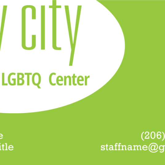 Gay City Business Card