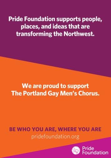 Pride Foundation Ad Template